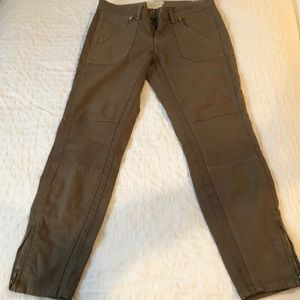 Current/Elliot Dusty Olive jeans